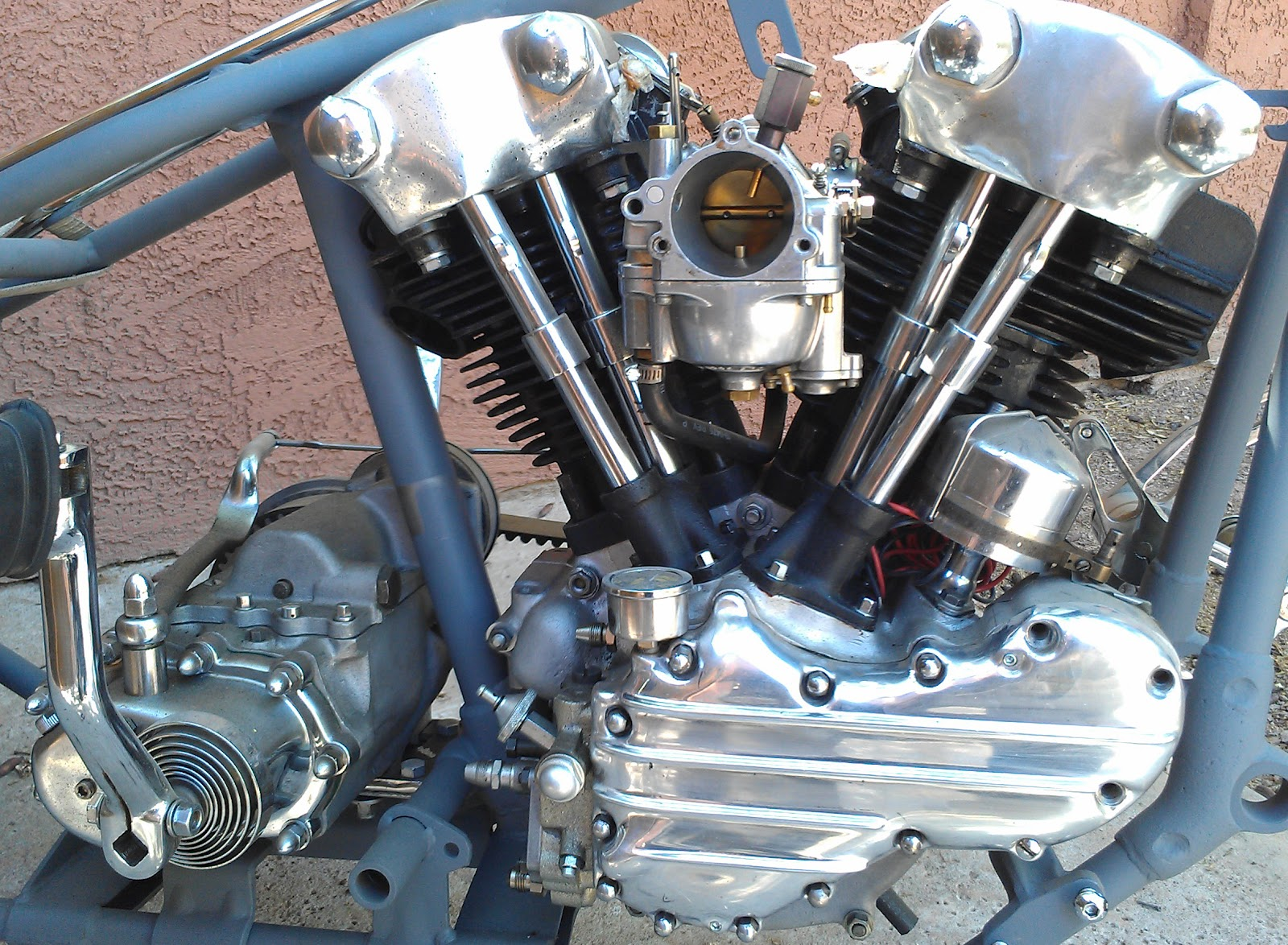 love cycles sold 1945 knucklehead engine for sale. Black Bedroom Furniture Sets. Home Design Ideas