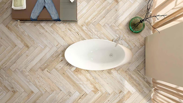 Tiles design for home flooring with Expo collection- The new wood concept