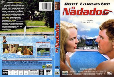 Carátula dvd: El Nadador (1968) The Swimmer