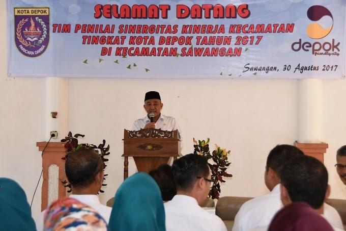 Lomba Sinergitas Kecamatan Tingkatkan Kinerja Camat