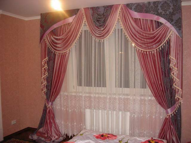 Provence Bedroom Curtain Designs