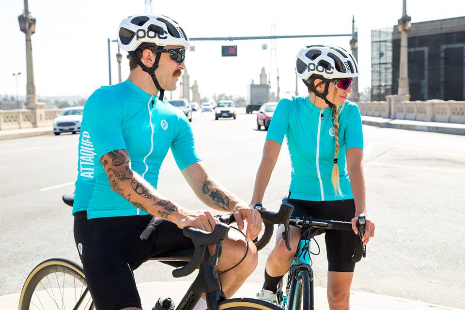 Yao`s Bike Blog  ATTAQUER New Race Jersey Teal colour d3ba32fb5