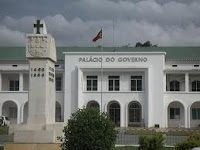 The Government Palace in Dili, East Timor