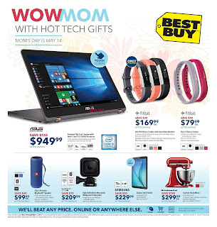 Best Buy mothers day sale May 5 to 11, 2017
