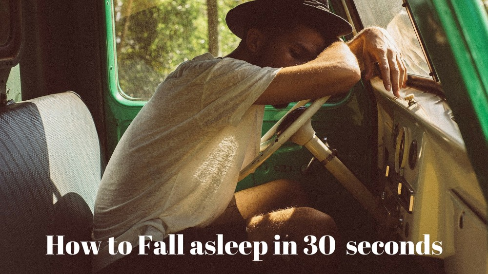 Fall Asleep In 30 Seconds