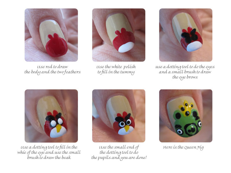 The Manicured Monkey: Guest Post: Joyluscious Angry Bird Tutorial!