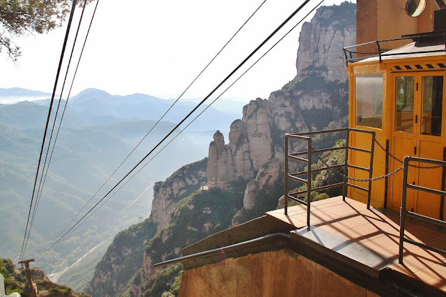 Funicular Aeri em Montserrat