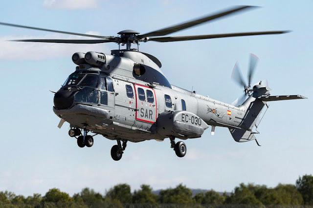 Nuevos helicópteros Super Puma para el 802 Escuadrón SAR de Canarias