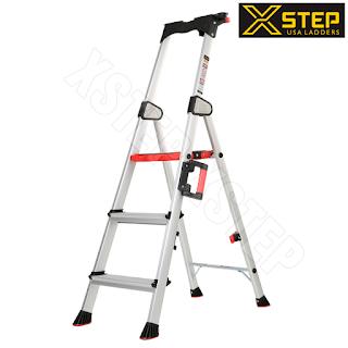 Đơn vị cung cấp Thang nhôm ghế XSTEP XL 03 chữ A giá rẻ