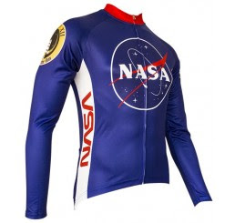 NASA Long-Sleeve Cycling Cycling Jersey