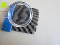 Lupe: Health Enterprises - Läusekamm mit integriertem Licht, Vergrößerungslupe und auswechselbaren Metallzinken - Ideal zur Bekämpfung von Läusen, Nissen, Flöhen und Kopfläusen