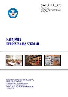 cover buku manajemen perpustakaan sekolah