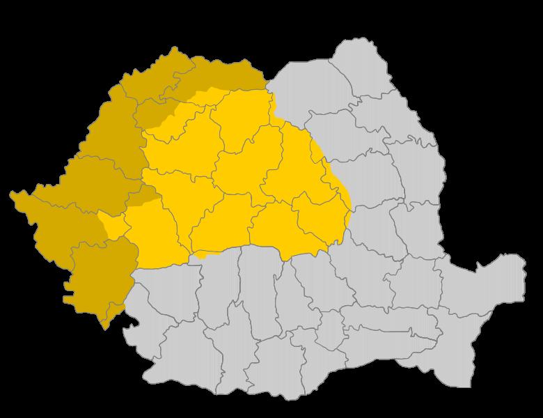 Transylvania map