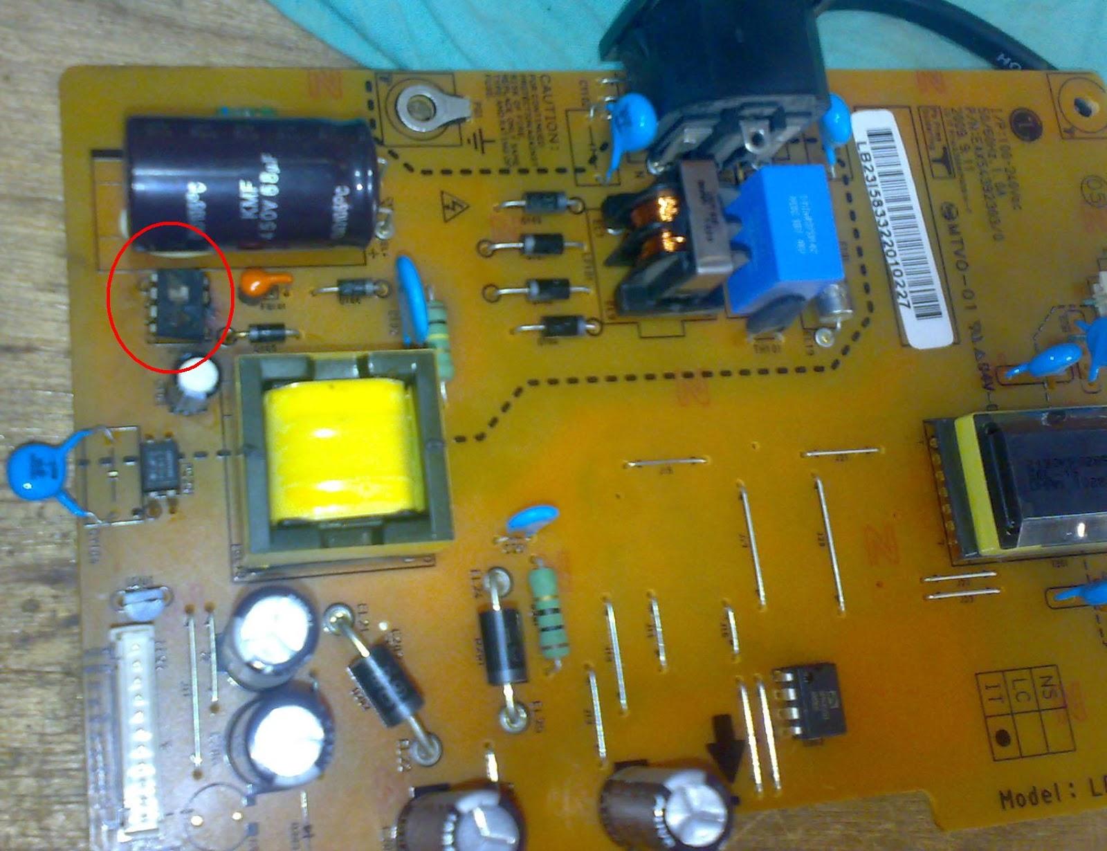 LCD FLATRON LG W1953SE MATI Tempat Perbaikan Hp Dan