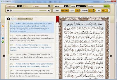 Downoad Al-Quran Digital dan Terjemahan  free Untuk PC / Laptop  Terbaru