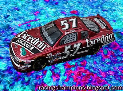 Jason Keller #57 Excedrin Racing Champions 1/64 NASCAR diecast blog BGN