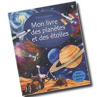 Mon livre des planètes et des étoiles usborne avis critique chronique blog