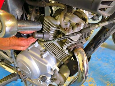 Yamaha YBR 125 compression testing , cylinder compression values