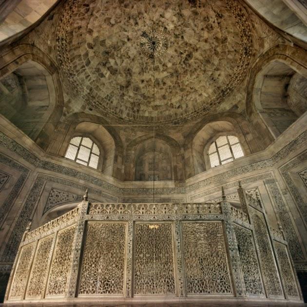 Interiores Taj Mahal, la sala principal