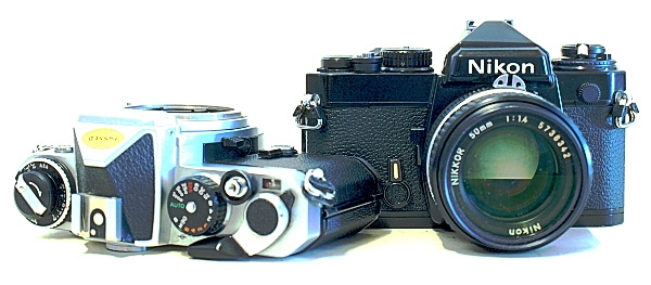 Nikon FE 35mm Analog SLR Camera