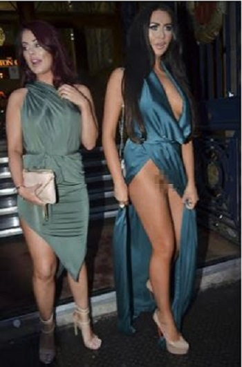 Popular Reality TV Star Flashes Private Parts in Public After Suffering Wardrobe Malfunction (Photos)