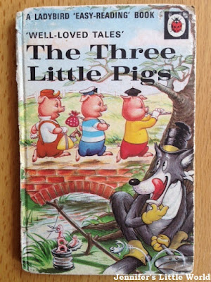Ladybird Well Loved Tales - The Three Little Pigs