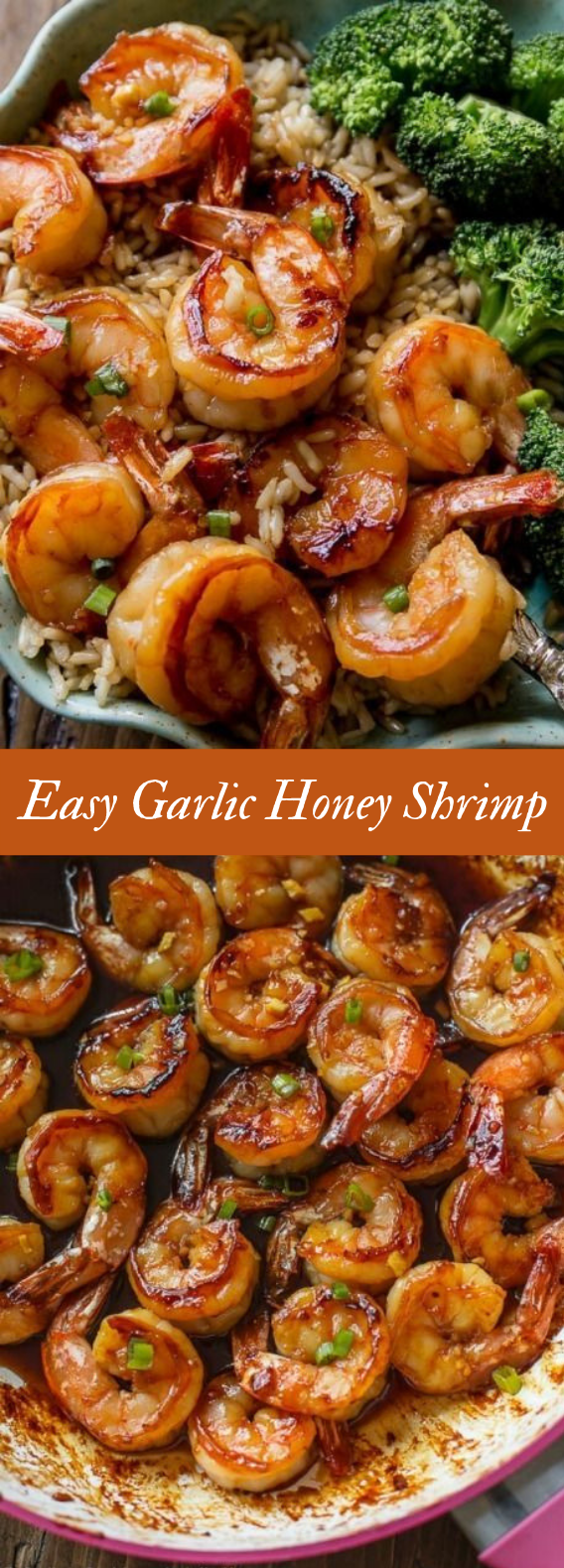Quick & Healthy Dinner: 20 Minute Honey Garlic Shrimp #Recipe #Easy