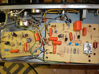 cream circuit boards Echoplex ep3 service red ep4 repair tape echo delay TIS98 Playback