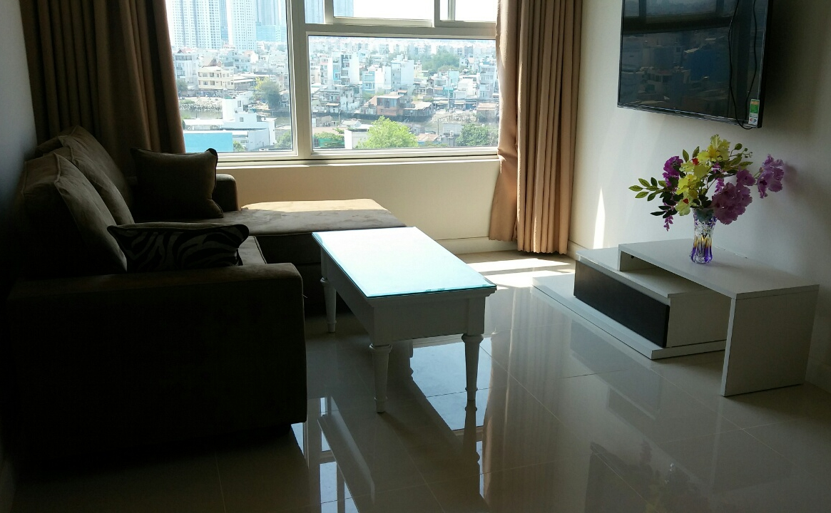 Galaxy 9 Apartment For Rent With 2bedrooms, 80sqm, On Ben Van Don Street, District 4, Ho Chi Minh City