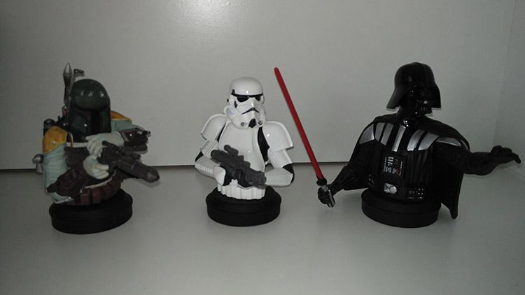 colección de Bustos Star Wars de Planeta DeAgostini