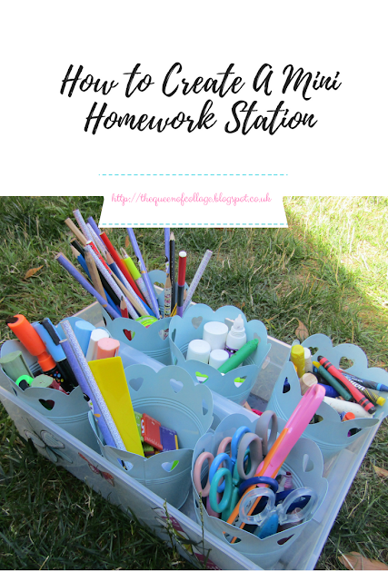 How to Create A Mini Homework Station
