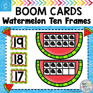 Teaching ten frames in math centers