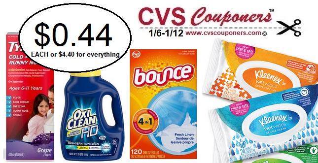 http://www.cvscouponers.com/2019/01/bounce-oxiclean-tylenol-extrabuck-cvs-deal.html