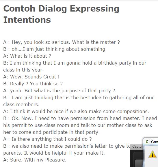 Materi Pelajaran Bahasa Inggris Smk 67 Expressing Intention
