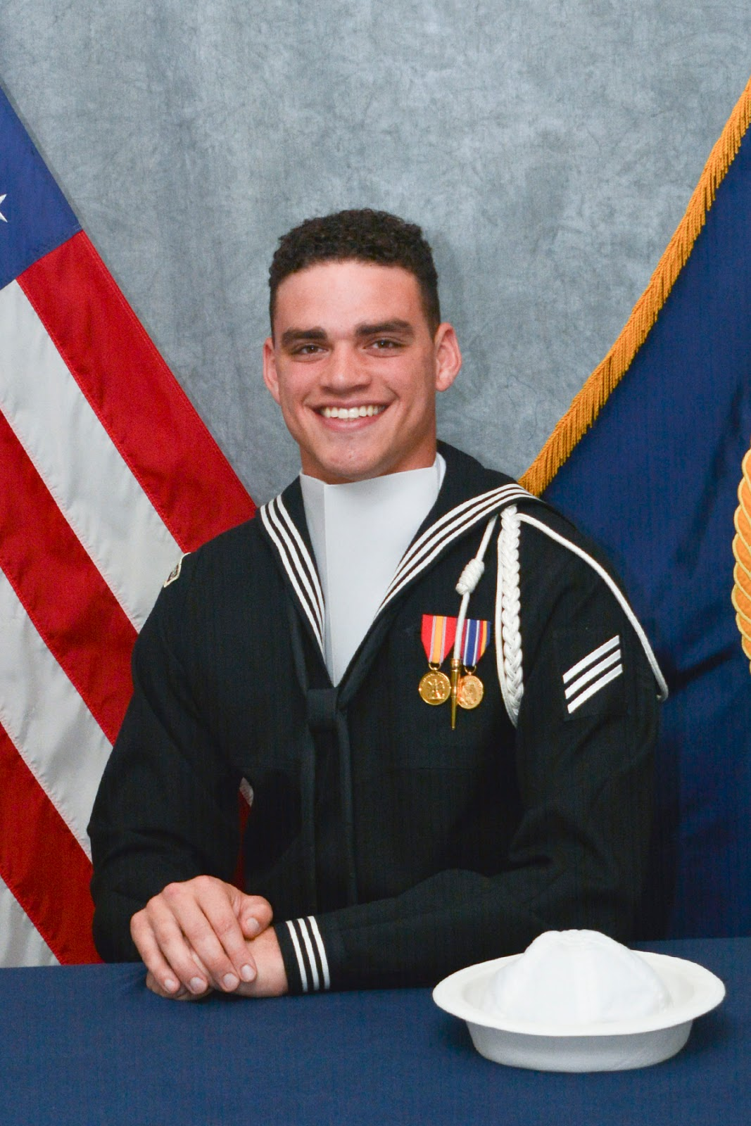 On Memorial Day Salem Native Serves With Elite Navy Honor Guard - Us-navy-ceremonial-guard