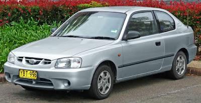 Hyundai accent(2 door)