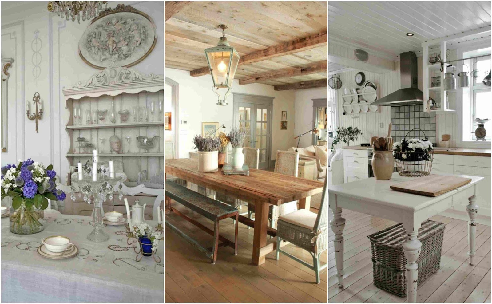 Kitchen design in the style of Provence - French and ...