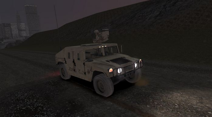GTA 4 MOD: M1151 Up Armored HMMWV