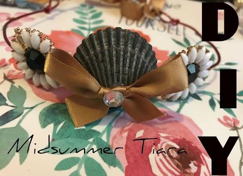 DIY Midsummer Tiara