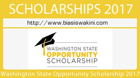 Washington State Opportunity Scholarship 2017