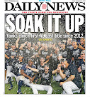 Yanks sweep front and back pages