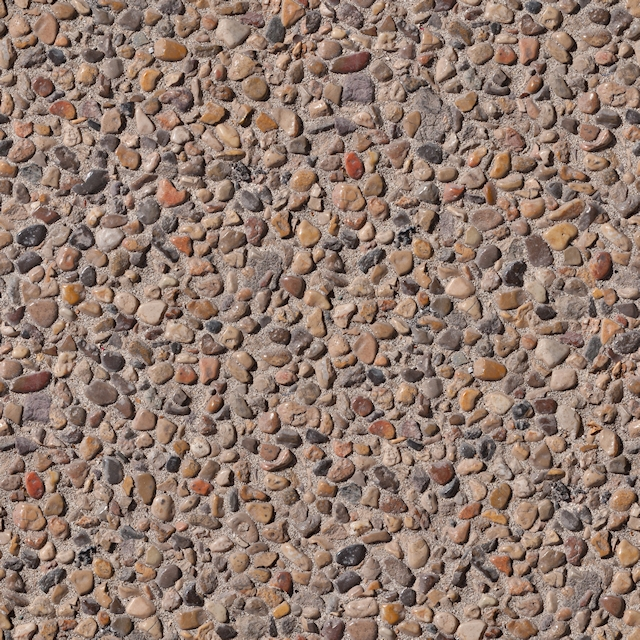 Pebble Stone Floor Seamless Texture