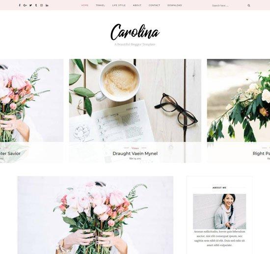 Carolina Blogger Personal