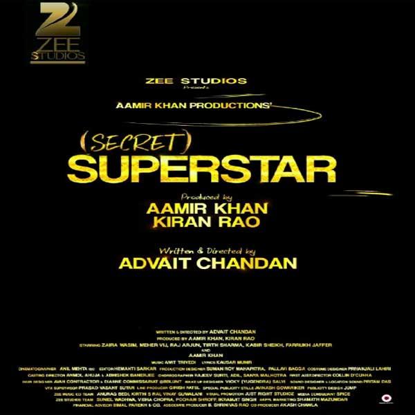 Secret Superstar, Secret Superstar Synopsis, Secret Superstar Trailer, Secret Superstar Review, Poster Secret Superstar