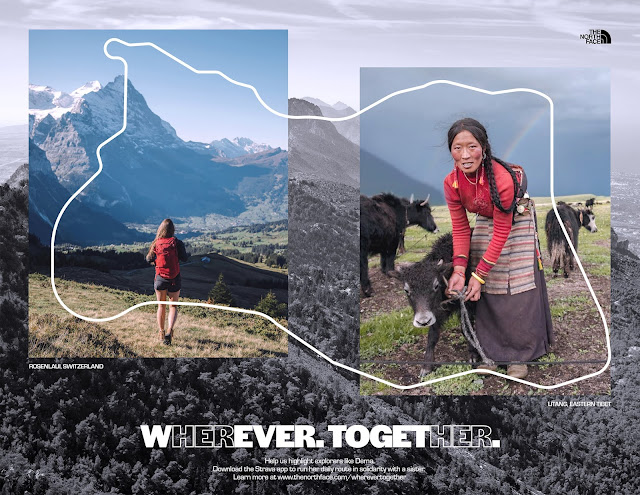 Student Spec Ad  Wherever. Together.  Brings Sisterhood to the Outdoors