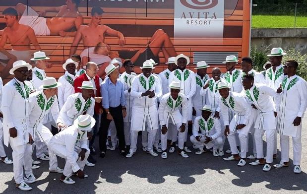 Mondial 2018: Le Nigeria fait le buzz avec sa tenue (Photos)