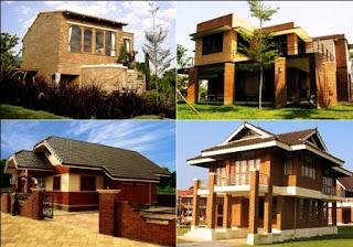 Tampilan Rumah Dengan Interlocking Bricks