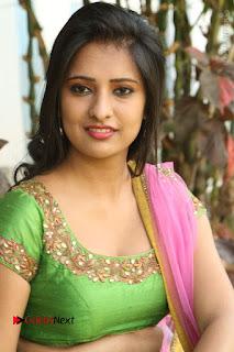 Actress Nikitha Bisht Stills in Lehenga Choli at Pochampally Ikat Art Mela Launch  0308.JPG