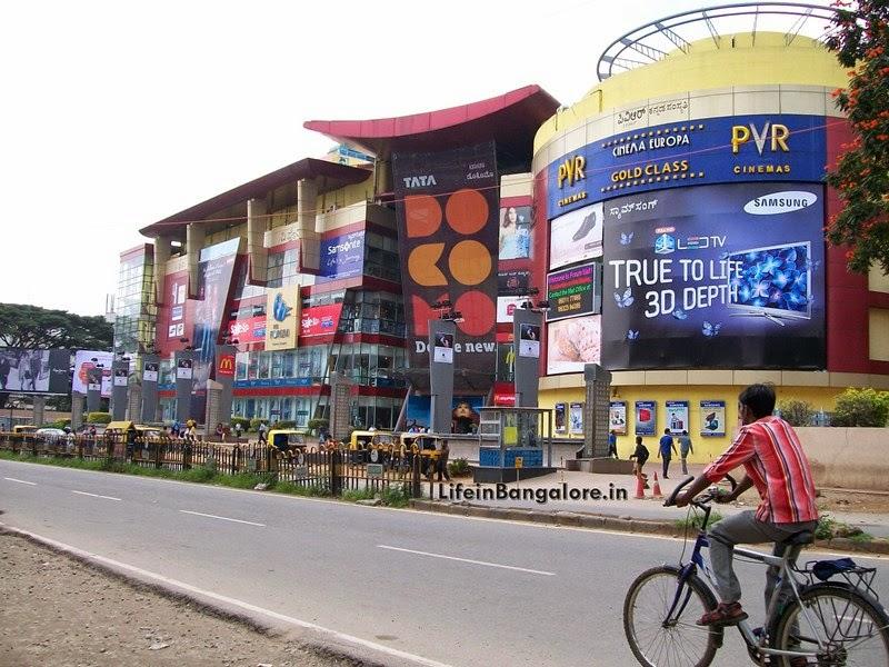 Life in Bangalore: Forum Mall Koramangala First Shopping ...
