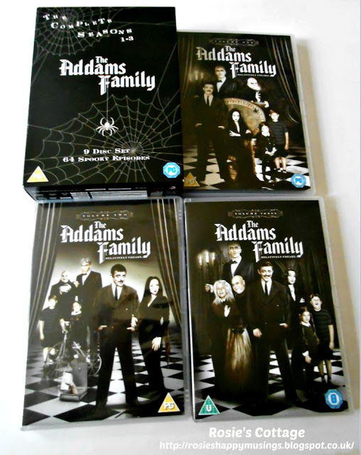 Some DVD box set suggestions for when you just need a sofa day... The Addams Family.
